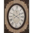 Woodland 18102 Country Style Wood Wall Clock