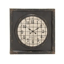 Benzara 20287 Grand, Cool and Matchless Metal Wall Clock
