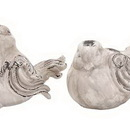 Woodland 20933 Set of 2 Garden Bird with Antique Appearance
