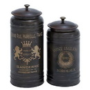 Woodland 38125 Canisters with Classic and Old-World Appeal - Set of 2