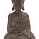 Woodland 44676 Poly Resin Buddha Decor