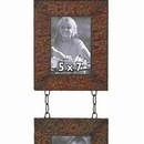 Woodland 48103 5 x 7 Metal Wall 2 Photo Frames