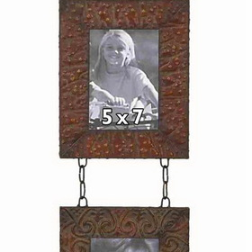 Woodland 48103 5 x 7 Metal Wall 2 Photo Frames, Price/Each