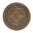 Woodland 50975 Metal Wall Decor with Floral Engravings