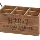 Woodland 51662 WOOD WINE CRATE