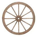 Woodland 52289 Metal Wagon Wheel with Long Lasting Construction