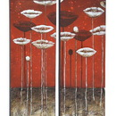 Woodland 53698 Wall Art for Modern and Conventional Decor - Set of 2