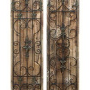 Woodland 55428 Enchanting Wooded Gate Wall Plaque