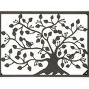 Benzara 67822 Stunning Metal Outdoor Tree Wall Plaque
