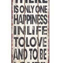 Woodland 69288 Wall Decor With Motivational Love Message