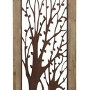Woodland 85972 Enchanting Wall Plaque With Garden Trees