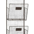 Woodland 92621 Double Columns Metal Wire Wall Unit