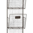 Woodland 92622 Three Tier Metal Wire Wall Unit