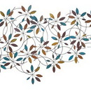Woodland 96932 Classic Metal Leaf Wall Decor with Modern Style