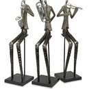 Benzara IMX-29658-3 Musical Sinatra Jazz Band Figures - Set of 3