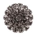 Benzara IMX-64235 Spectacular Metallic Large Ceramic Wall Flower