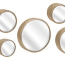 Benzara IMX-65177-7 Decorative Covington Wall Mirrors - Set of 7