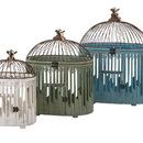 Benzara IMX-65266-3 Customary Styled Elaine Bird Houses - Set of 3