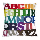 Benzara IMX-86042 Colorful Rainbow ABC Cotton Pillow