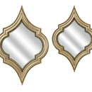 Benzara IMX-87340-2 Exclusive Marietta Wall Mirrors - Set of 2