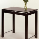 Winsome 92736 Wood Linea Kitchen Island Table with Chrome Accent