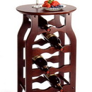 Winsome 92825 Wood Wine Rack 8-Bottle