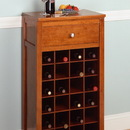 Winsome 94638 Wood Wine Modular Cabinet