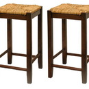 Winsome 94774 Wood Set of 2, Rush Seat 24
