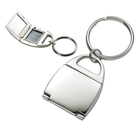 K-112 Silver Purse Key Chain with Photo Frame, Price/Each