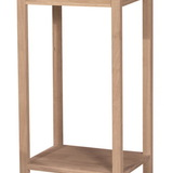 International Concepts OT-42 Portman Accent Table, Unfiinished