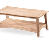 International Concepts OT-4TC Bombay tall coffee table, Unfiinished
