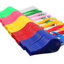 GOGO 4 Dozen Assorted Sports Plastic Whistle, Referee Whistle With Neck String - Big Size