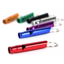 GOGO 10 Pcs Whistle Keyring, Survival Aluminum Whistle, Great For Hiking Camping