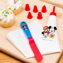 Mickey-Minnie Lets Decorate Frostng Bag-Tips-Spreader 8pc