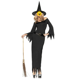Halloween Cloak, Golden Pumpkin Witch Cape For Adult