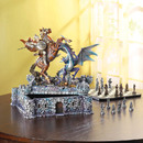 Zingz & Thingz 57070548 Dragon Slayer Deluxe Chess Set
