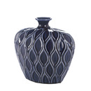 Zingz & Thingz 57072207 Blue Small Vase With Short Lip