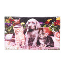 Zingz & Thingz 57072553 Dogs And Cats Floor Mat
